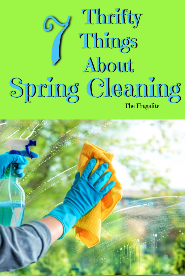 7 Thrifty Things About Spring Cleaning