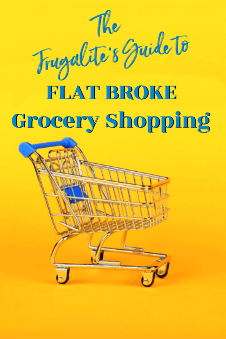The Frugalite\'s Guide to Flat Broke Grocery Shopping
