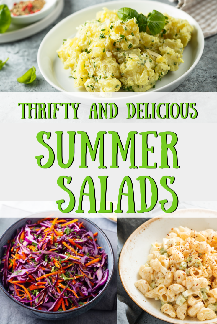 Thrifty and Delicious Summer Salads