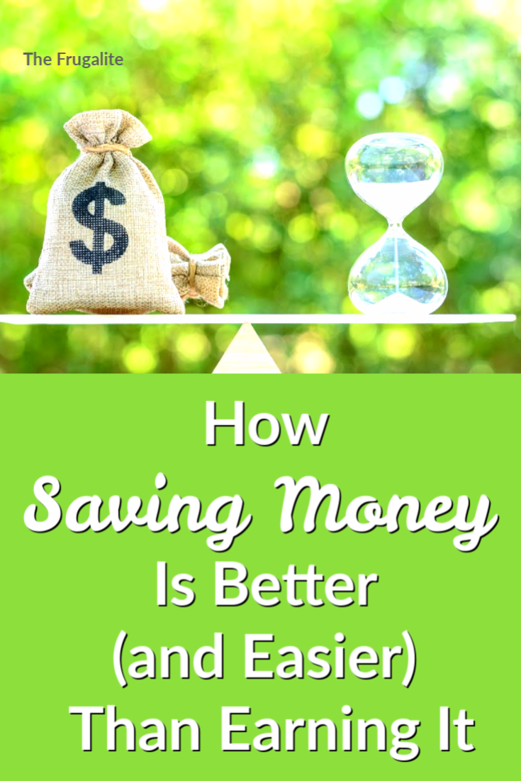 How Saving Money Is Better (and Easier) Than Earning It