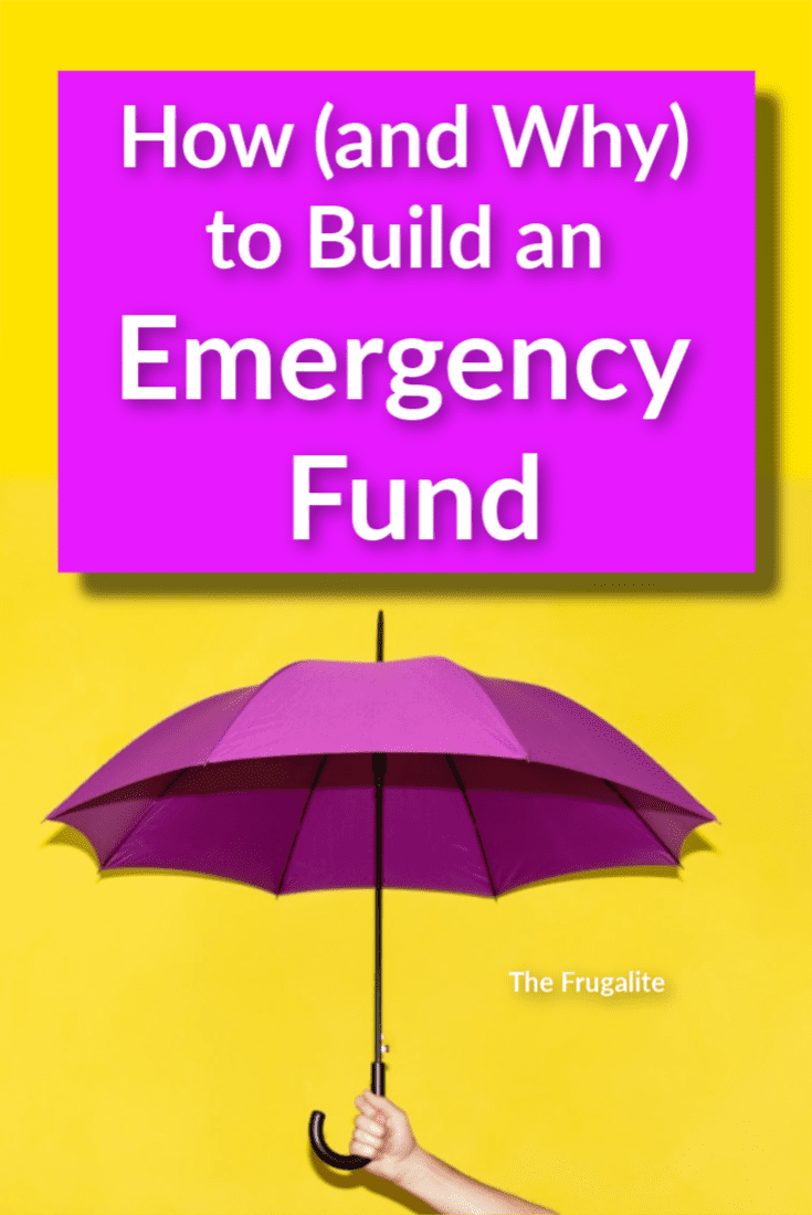 How (and Why) to Build an Emergency Fund