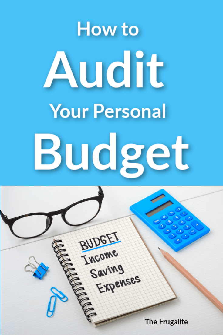 How to Audit Your Personal Budget