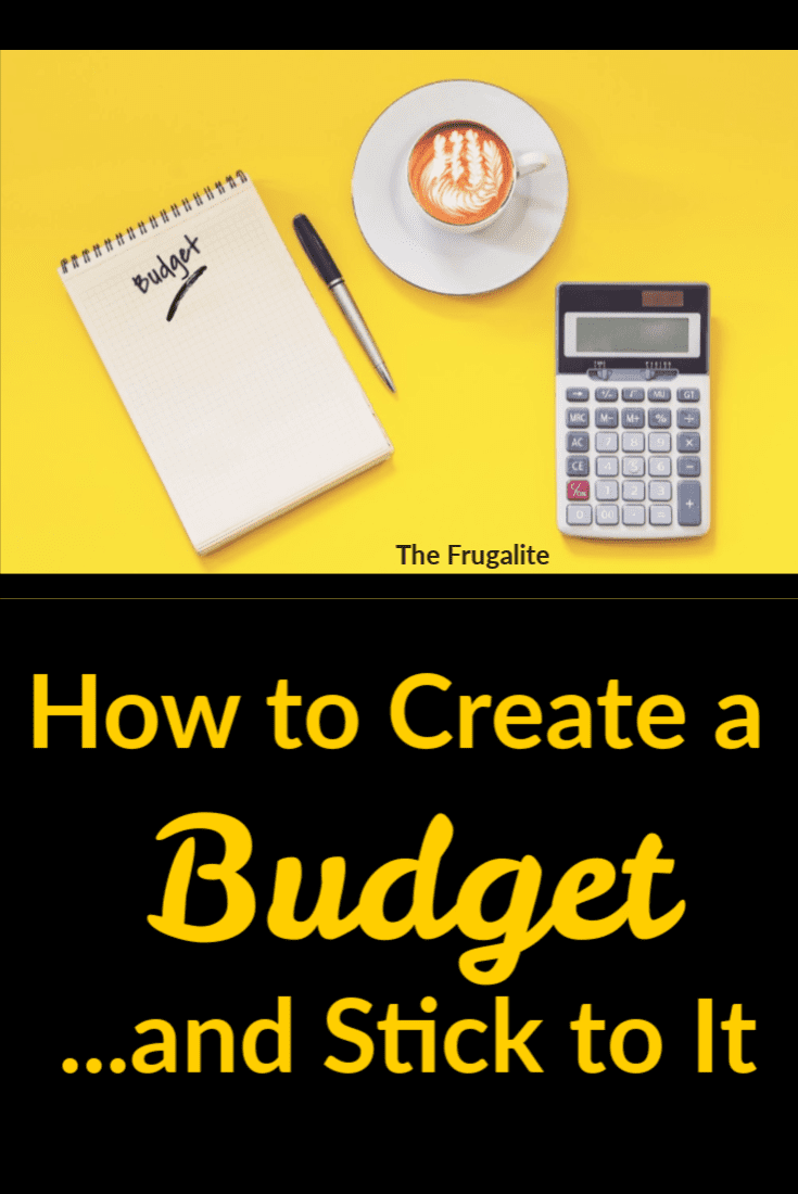 How to Create a Budget...and Stick to It
