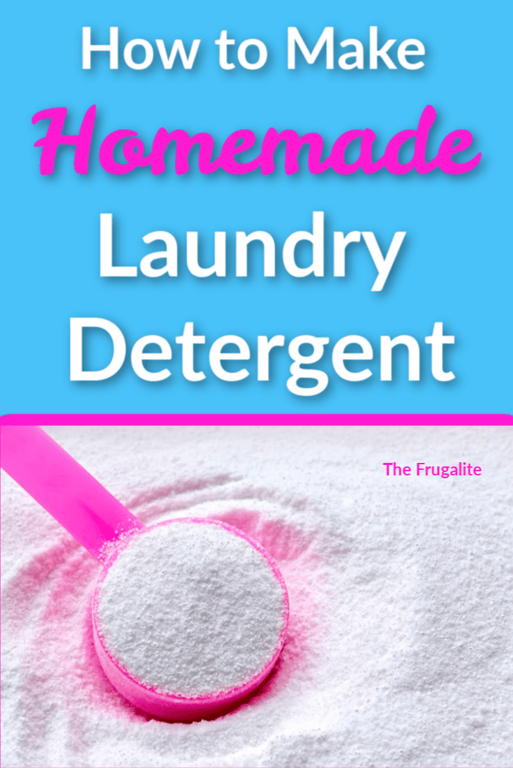 How to Make Your Own Laundry Detergent