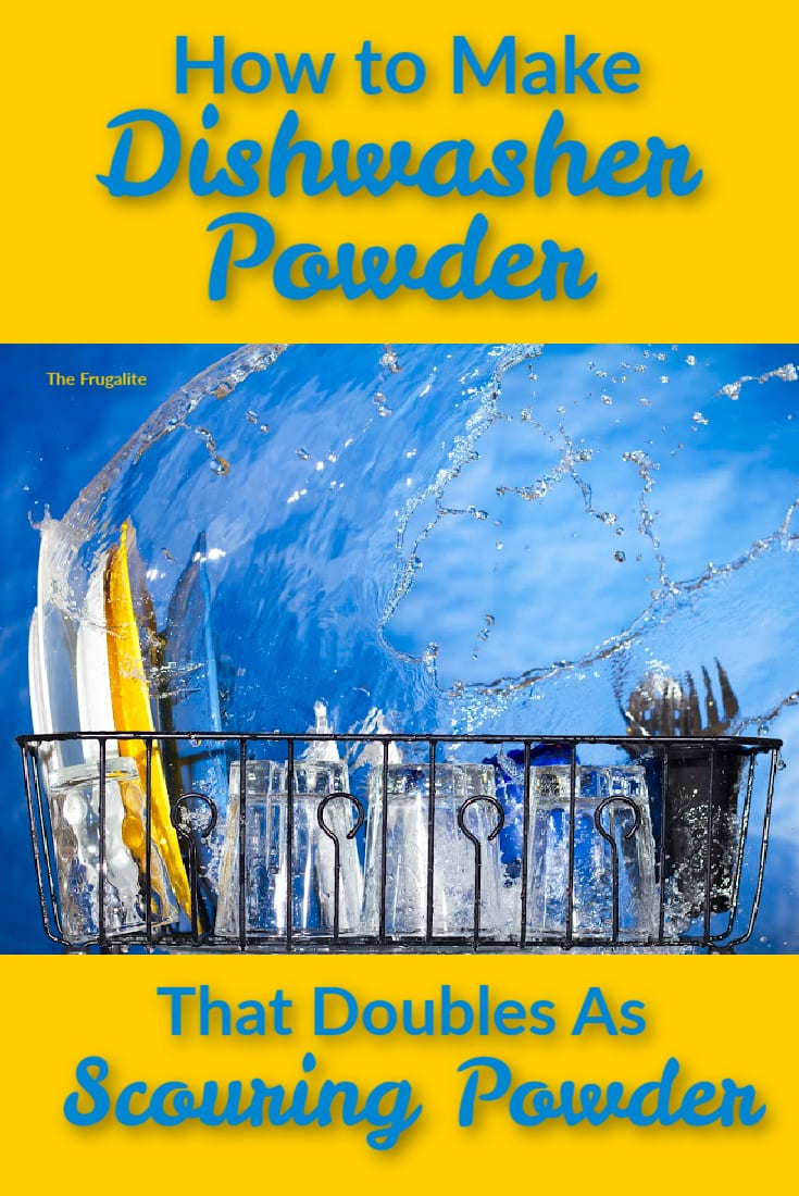 How to Make Dishwasher Powder (That Doubles as Scouring Powder)