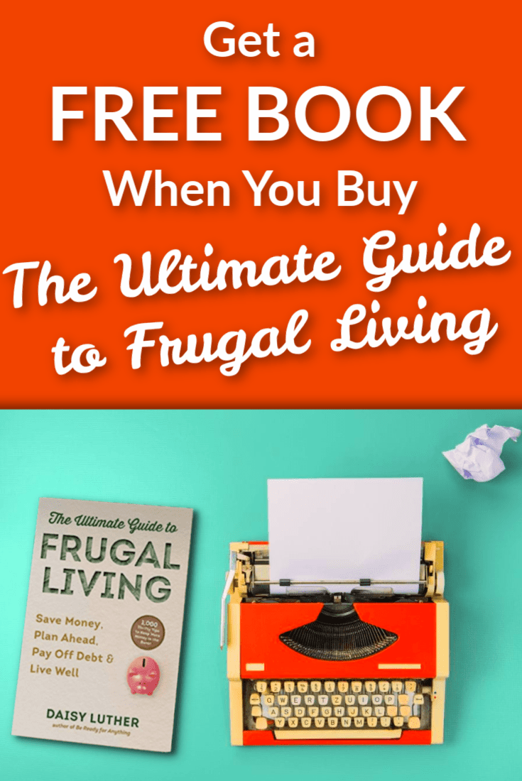 Get a FREE BOOK When You Buy The Ultimate Guide to Frugal Living