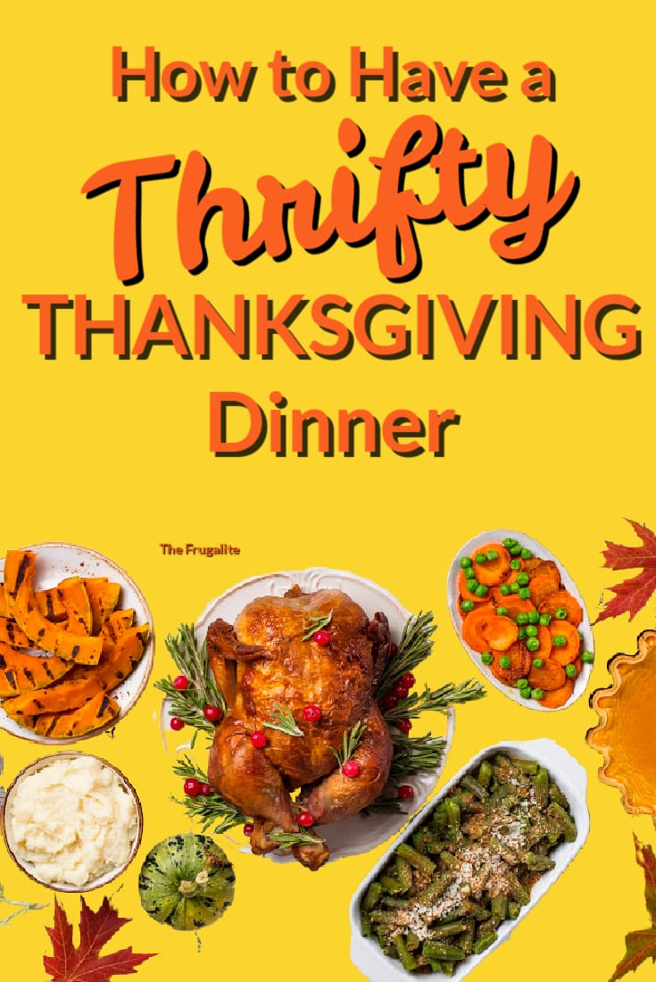 How to Have a Thrifty Thanksgiving Dinner