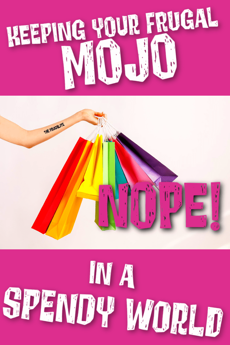 Keeping Your Frugal Mojo in a Spendy World