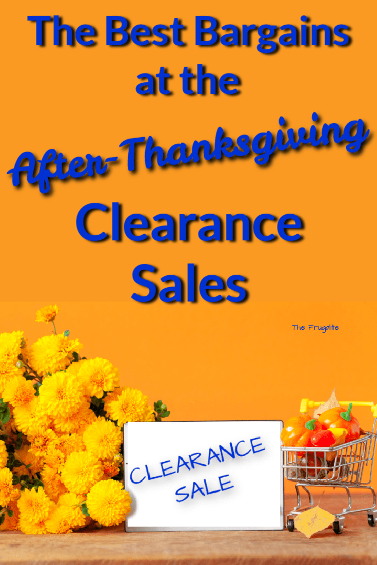 The Best Bargains at the After-Thanksgiving Clearance Sales