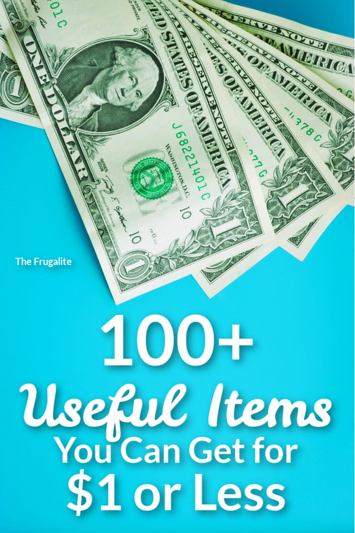 100+ Useful Items You Can Get for $1 or Less