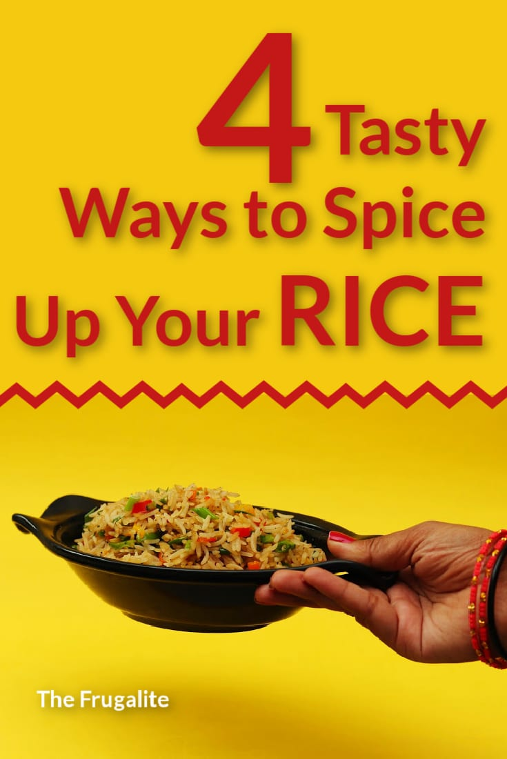 4 Tasty Ways to Spice Up Your Rice