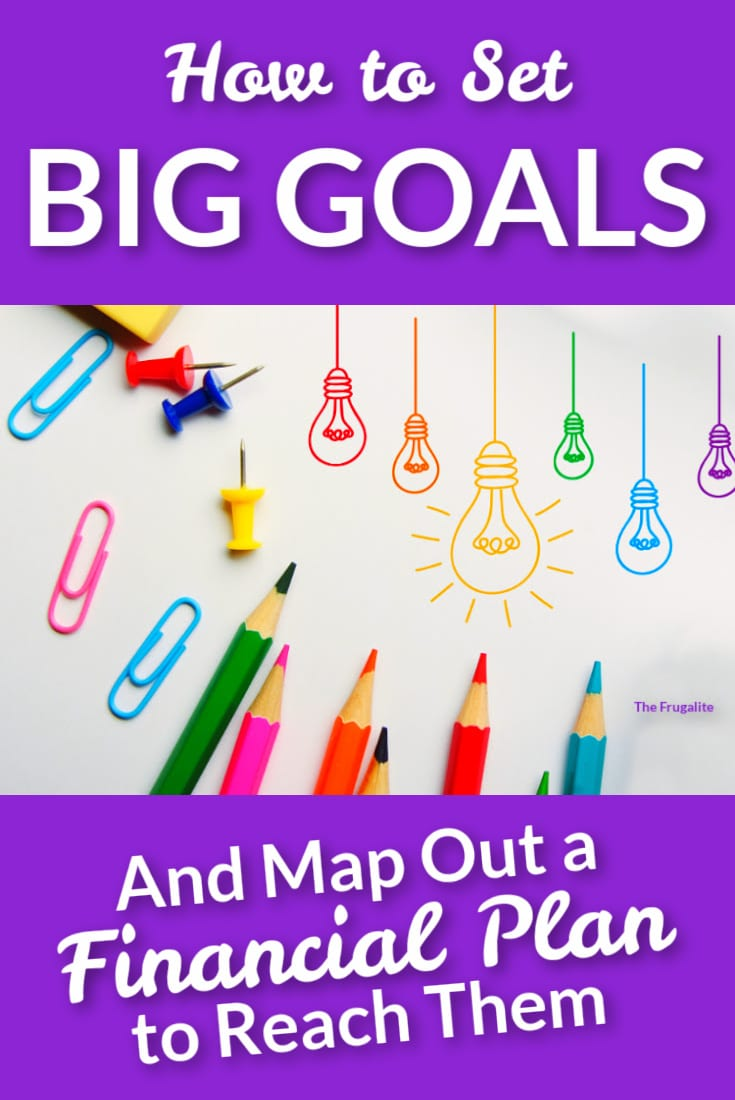 How to Set BIG GOALS and Map Out a Financial Plan to Reach Them