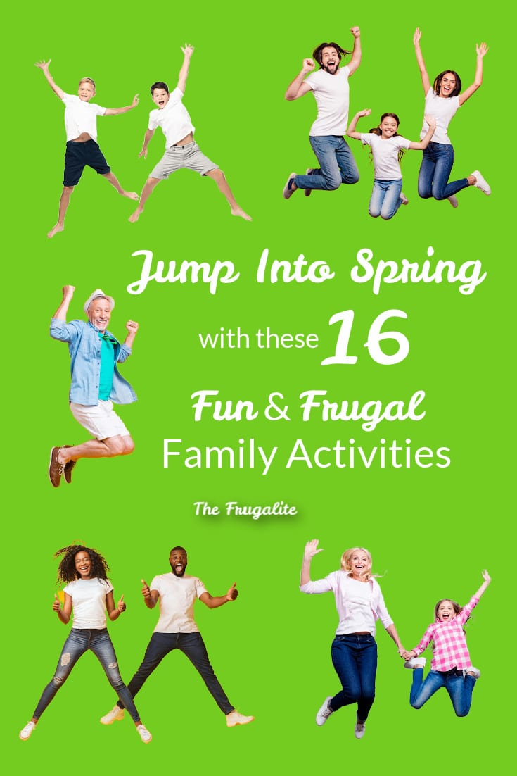 Jump Into Spring With These 16 Fun and Frugal Family Activities