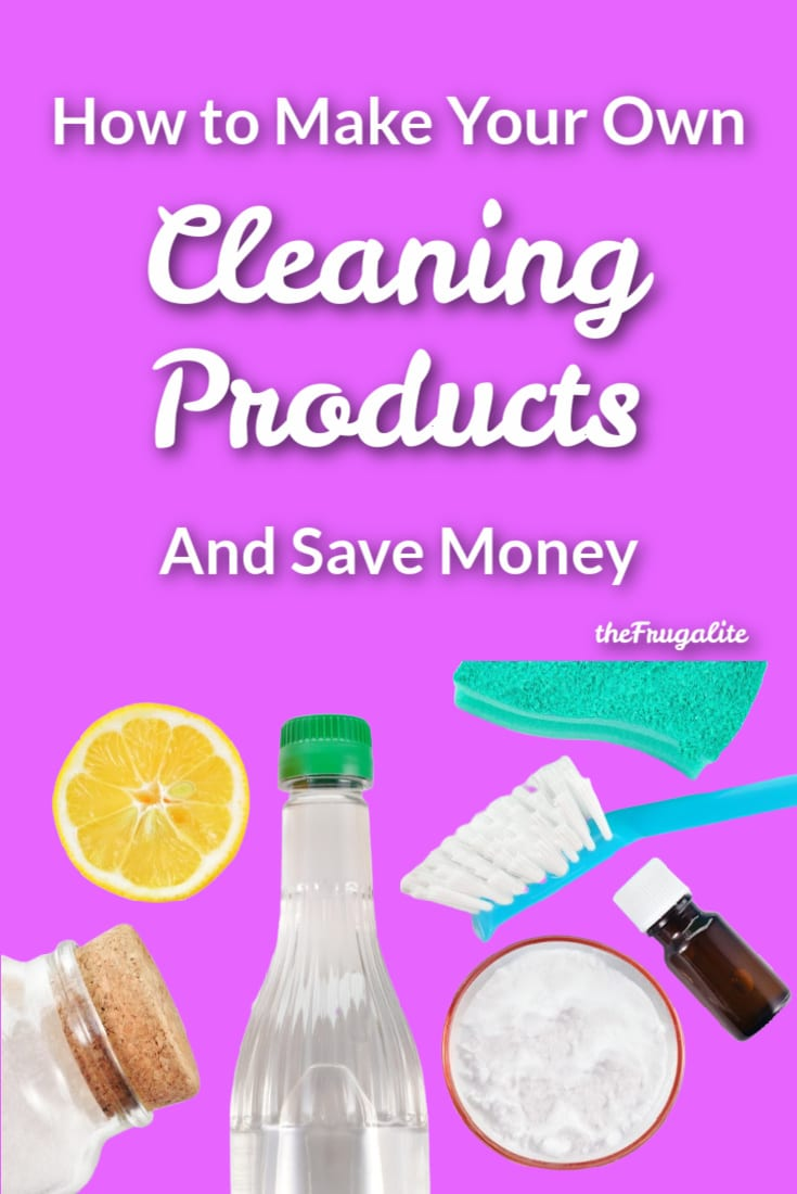 How to Make Your Own Cleaning Products and Save Money