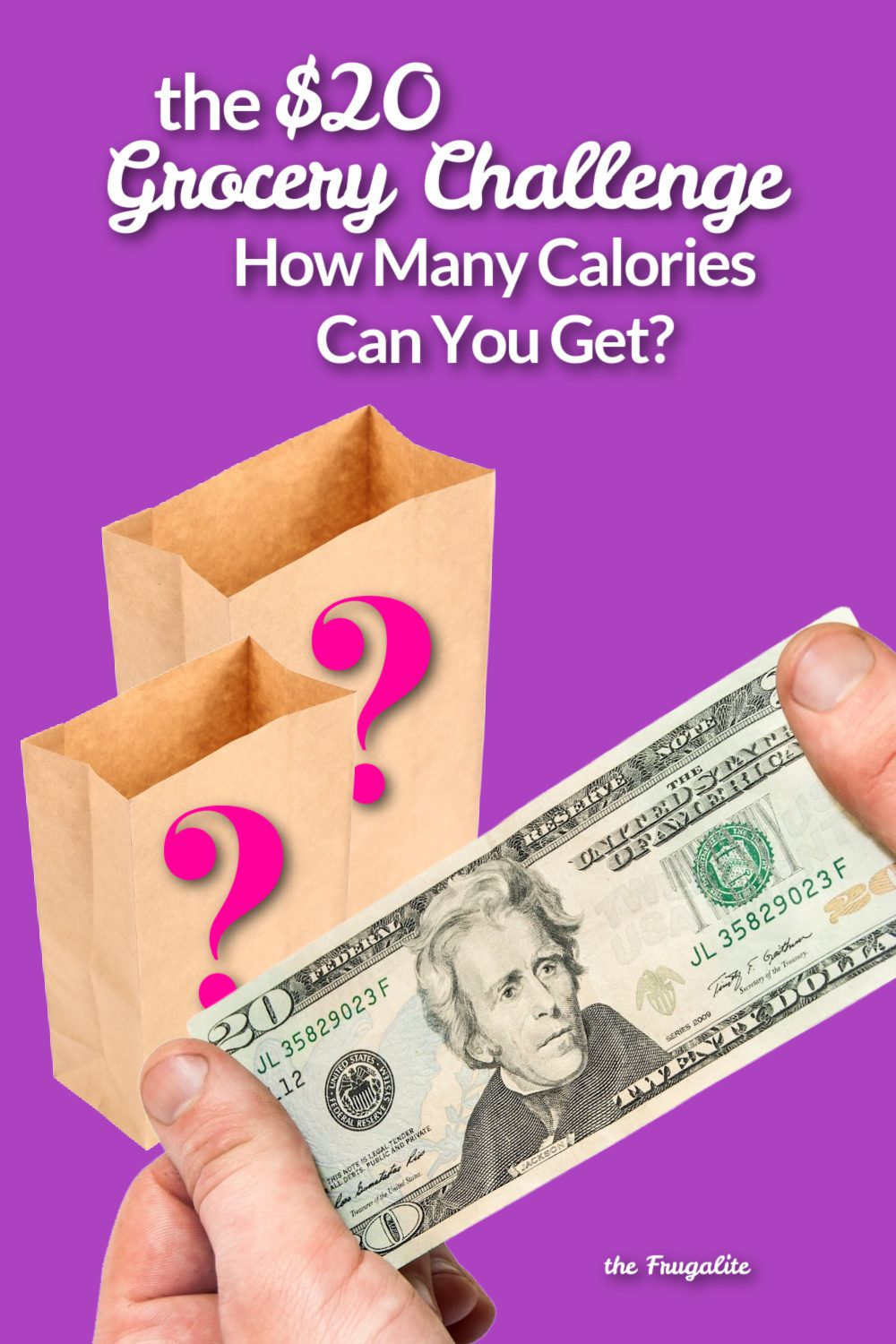 The $20 Grocery Challenge: How Many Calories Can You Get?